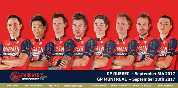 01.09.2017 - SQUADRA PER GP QUEBEC E MONTREAL CANADA