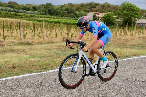 Noemi Lucrezia Eremita del Team Di Federico, vincitrice gara (Photobicicailotto)