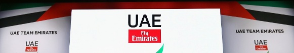 during the UAE Team Emirates Media Launch at Crowne Plaza Yas Island on February 21, 2017 in Abu Dhabi, United Arab Emirates.