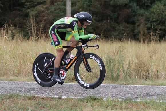 Mattia Cristofaletti vincitore gara U23 - (Photobicicailotto)