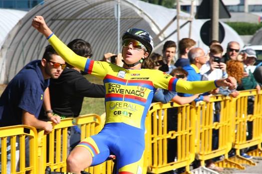 Primo piano della vittoria di Gabriele Casalini (Foto Berry)