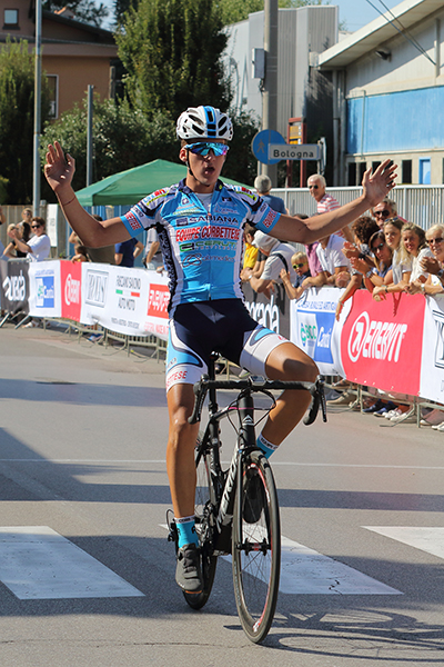 Alessandro Baroni vince a Cabiate (Foto Kia)