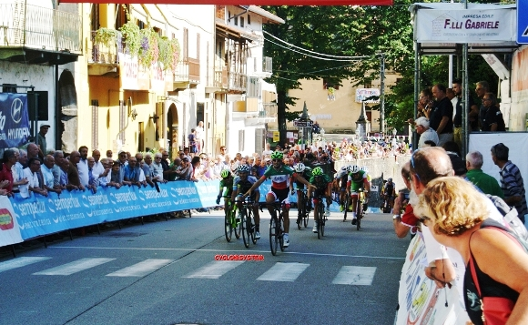 Gianluca Milani vince a Castelletto Cervo (Cyclo@system)