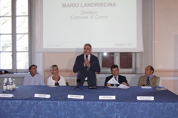 Landriscina Sindaco di Como (Foto Kia Castelli)