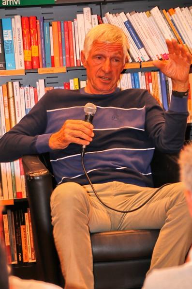 Francesco Moser favorevole alla riduzione del nr. dei corridori al via delle corse (Photobicicailotto)