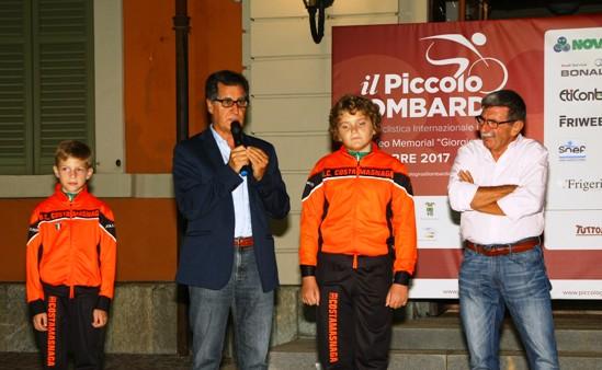 Consigliere Nazionale Gianantonio Crisafulli e Presidente CP FCI Lecco Alessandro Bonacina (Foto Berry)