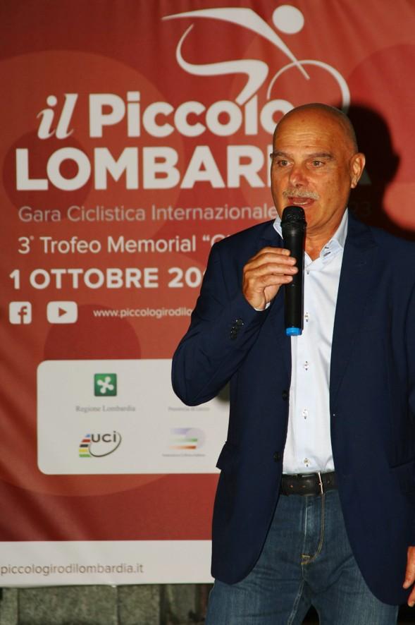 Daniele Fumagalli, presidente VC Oggiono e Organizzatore 89^ Piccolo Lombardia (Foto Berry)