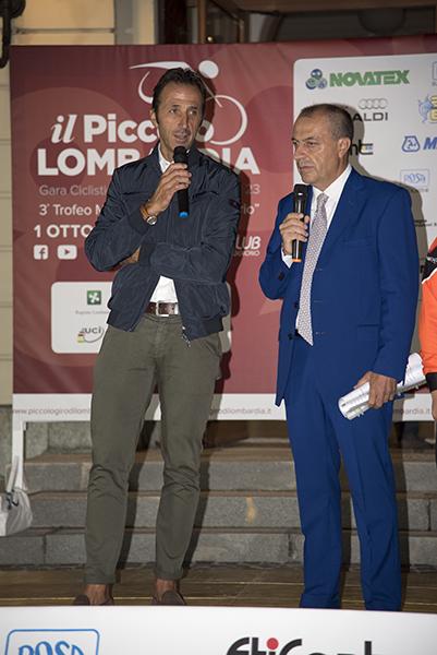 Andrea Tafi e Alessandro Brambilla (Foto Kia)