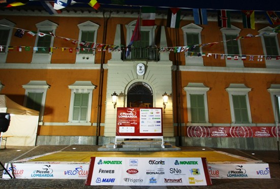 La nuova piazza del Municipio di Oggiono (Foto Berry)