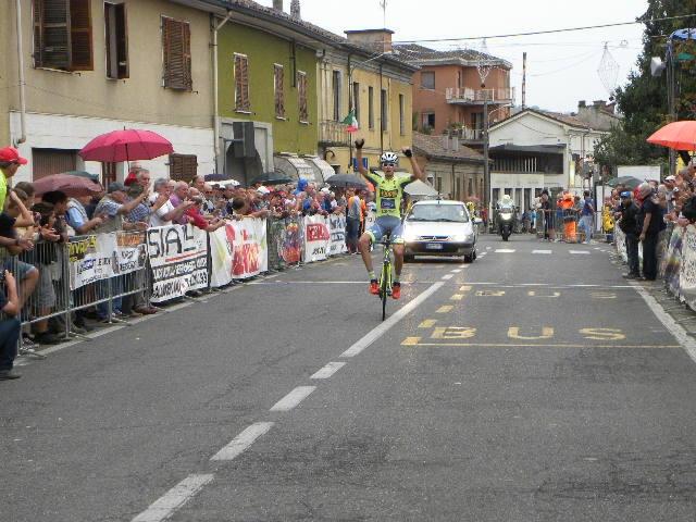 La Vittoria di Caciotti a Viguzzolo (Foto Nastasi)