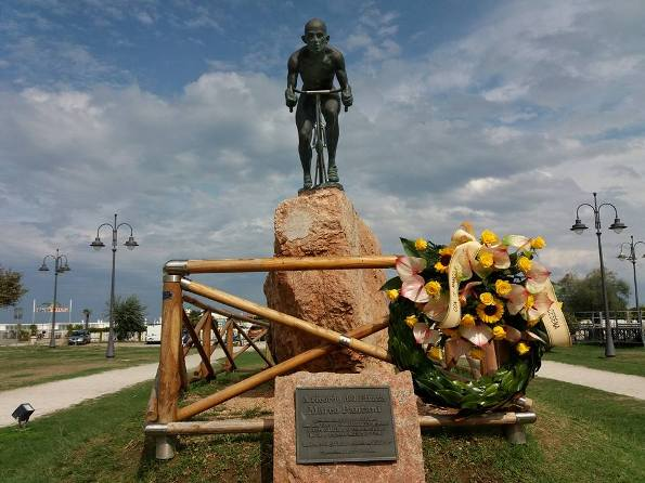 16.09.2017 - Monumento a Pantani a Cesenatico