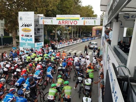 La partenza (Foto Bettini)