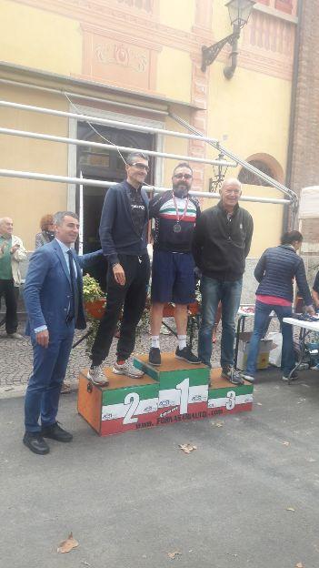 Claudio Dibenedetto Tricolore Giornalisti Ciclisti 2017