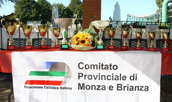 Tavolo dei Trofeo gara Juniores Arcore (Foto Berry)