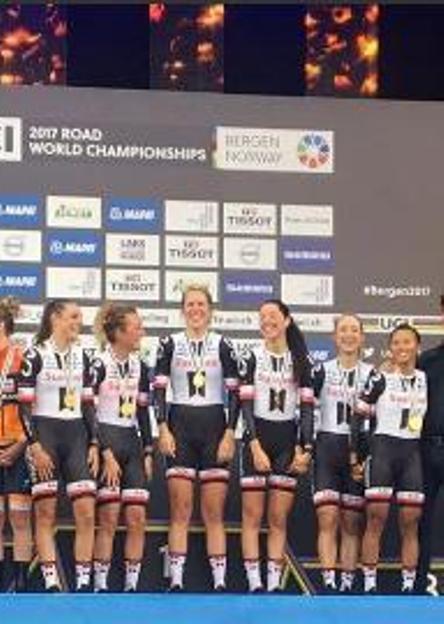 Team Sunweb Donne Elite Campionesse del mondo cronosquadre