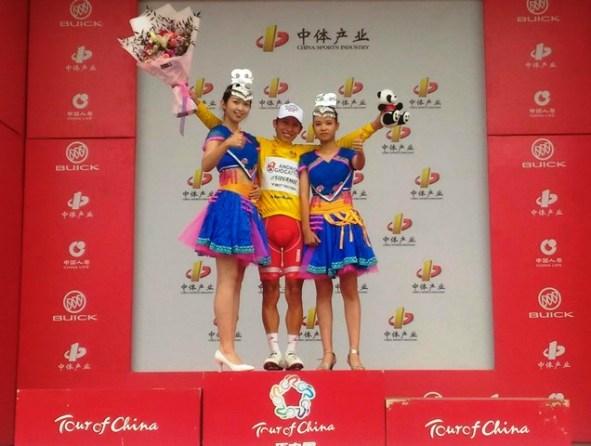 Kevin Rivera vincitore 1^ Tappa Giro della Cina 2