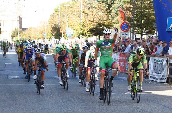 Imerio Cima, netta vittoria  a Sannazzaro (Foto Pisoni)