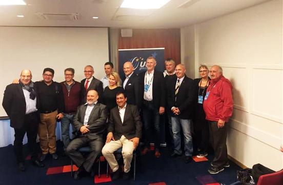 Bergen Congresso UCI - Foto di Gruppo