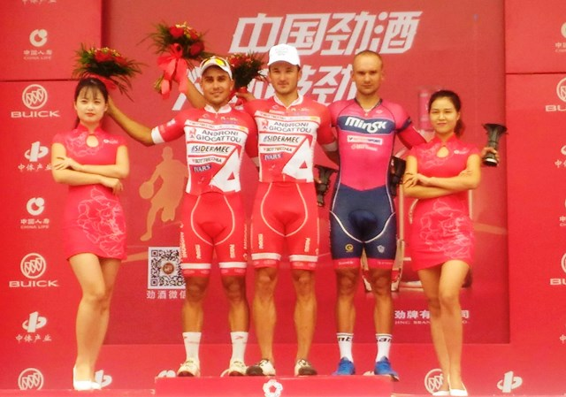 Benfatto 2^ Vittoria al Tour Of China-2