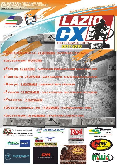22.09.2017 – Campo Verde (Latina) – Ciclocross : Parte il Trofeo Romano Scotti
