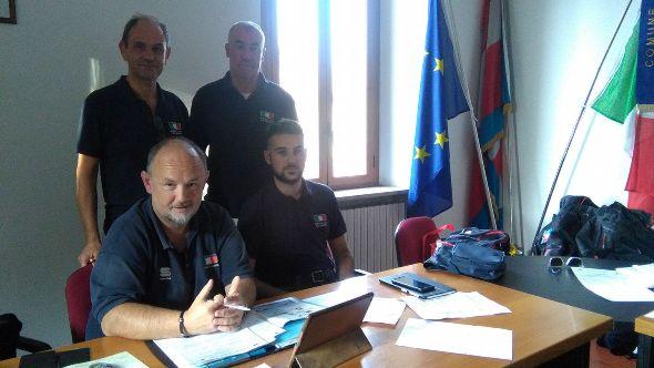 Giudici FCI ad Alzano Scrivia (Foto Pisoni)