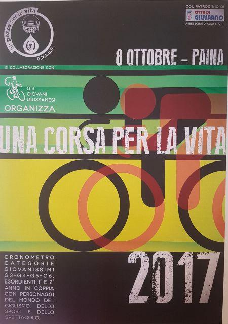 26.09.2017 - LOCANDINA UNA CORSA PER LA VITA NR. 01