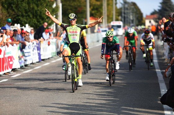 Lonardi vince ad Alzano Scrivia (Foto Pisoni)
