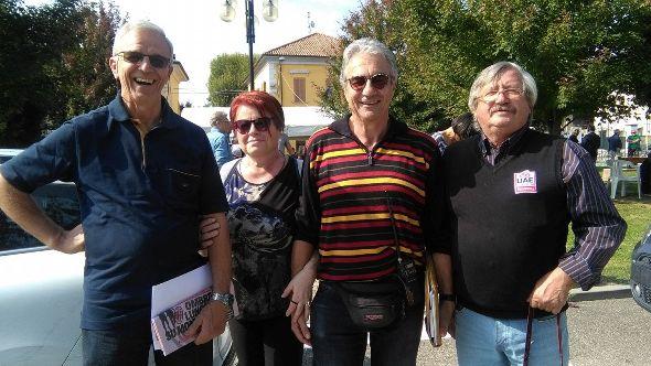 Da sx, Claudio Gregori, Paola e Franco Bocca e Antonio Pisoni (Foto Nastasi)