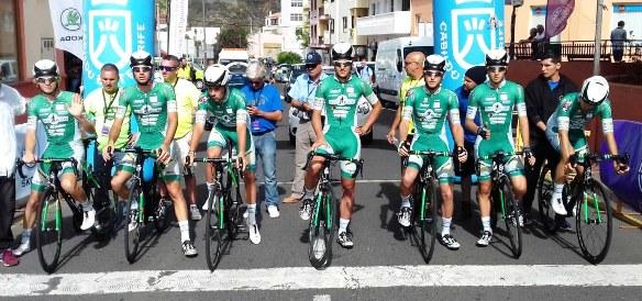 Vuelta a Tenerife : La squadra ITALIANA Delio Gallina-Eurofeed-Colosio vincitrice della cronosquadre (Rodella)