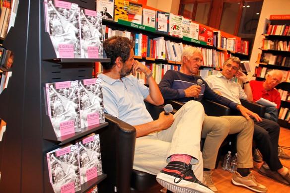 Feltrinelli-Verona Francesco Moser Rievoca il duello con Fignon al Giro del 1984 (Photobicicailotto)