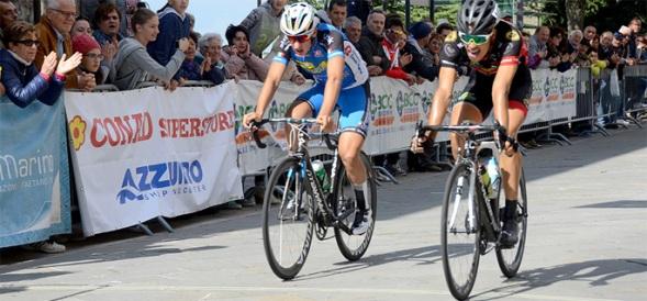 Arrivo di una precedente edizione della Lugo-San Marino