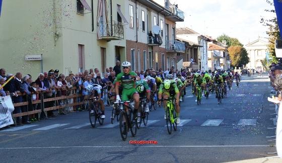 Imerio Cima vince a Sannazzaro (Cyclo@system)