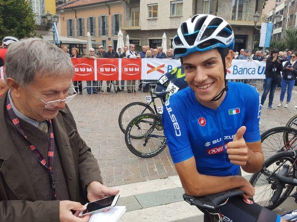L'azzurro Stefano Oldani (Foto di Sergio Gianoli)