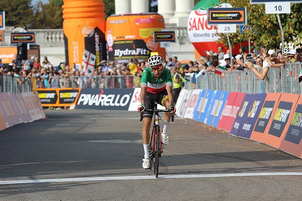 Fabio Aru, 3^ classificato a Superga (Foto di Kia Castelli)