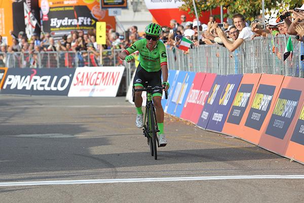 Rigoberto Uran vince la 98^ Milano-Torino (Foto Kia Castelli)