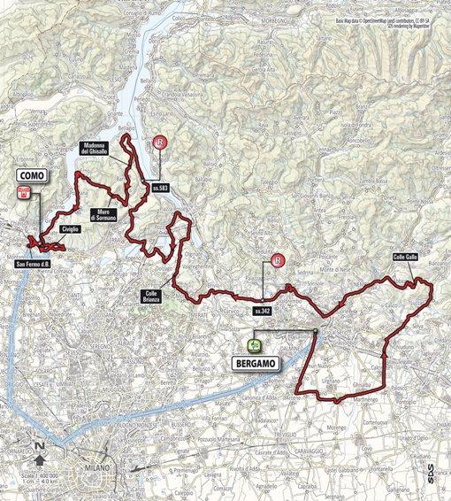 Planimetria del 111 Il Lombardia