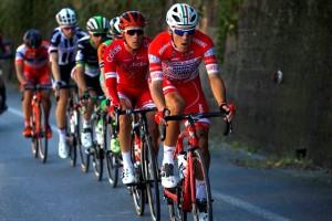 Il Lombardia 2017 - Davide Ballerini guida la fuga principale del Lombardia