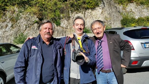 08.10.2017 - Da sinistra Antonio Pisoni, Fabiano Ghilardi e Vito Bernardi (Foto Berry)