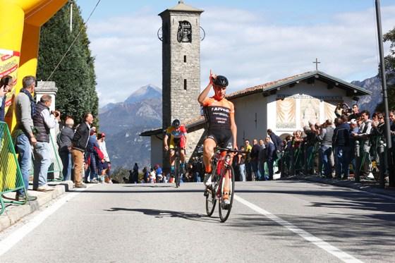 Luca Rastelli vince al Ghisallo (Foto Berry)