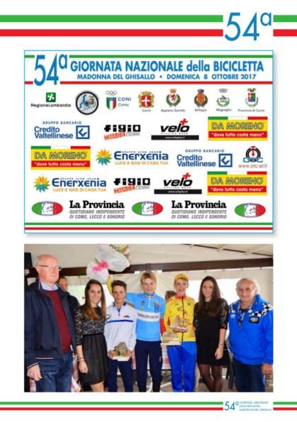 08.10.2017 - libretto 7  madonna del ghisallo 2017