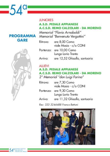 08.10.2017 - nr. 2 - libretto  2 madonna del ghisallo 2017