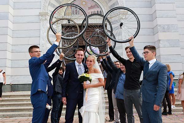 09.09.2017 - Piacenza - Gli Sposi all'uscita della Chiesa del Corpus Domini °