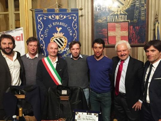 Rivarolo Canavese 09.10.2017 - Inaugurazione Fans Club Egan Bernal