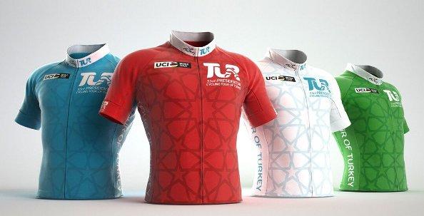 10.10.2017 - Le maglie del Giro di Turchia