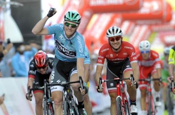 Sam Bennett vince la 2° tappa del 53° Giro di Turchia (Foto Comustampa)