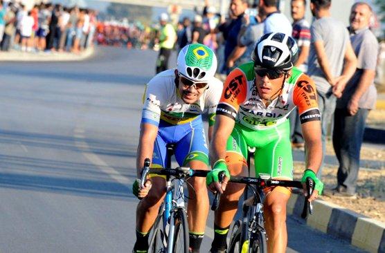 11.10.2017 - 2° Tappa del 53° Giro di Turchia, Maestri e Murilo Affonso (Brasiliano) in fuga