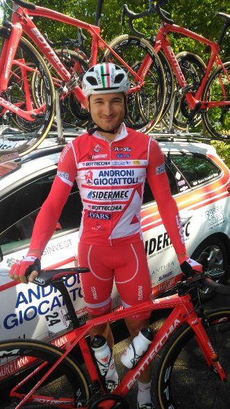 Marco Benfatto oggi, 11.10.2017, 4° nella 2° tappa del 53° Giro di Turchia