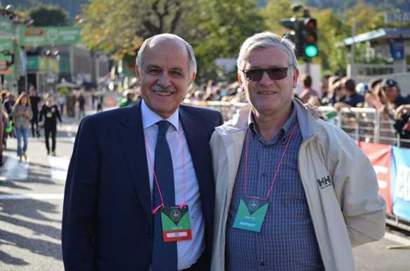 Il Presidente Renato Di Rocco e l'Organizzatore Mario Minervino