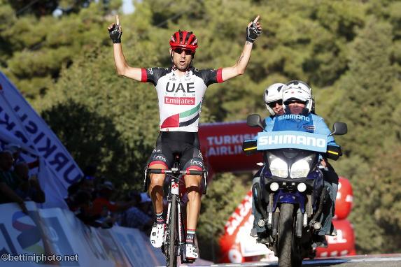 Ulissi vince 4 tappa del 53° Giro di Turchia