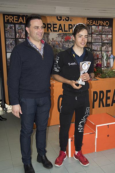 Luca Colnaghi, 2° classificato (Foto Kia Castelli)